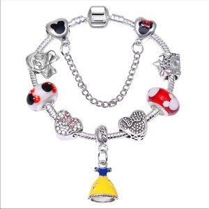 Jewelry - Brand New Minnie Mouse Charm Bracelet